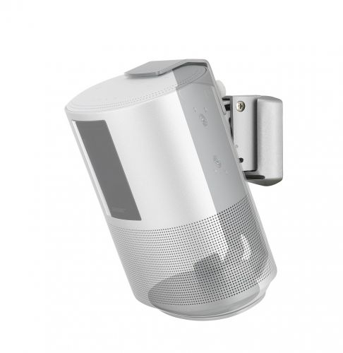 SOUNDXTRA Wall Bracket for Bose Home Speaker 500 - Silver
