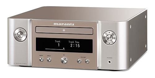 MARANTZ CR612 Mini System CD Player & Streamer with HEOS - Silver