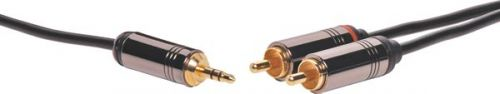 DYNALINK P7220 3.5mm to 2x RCA Cable 1m