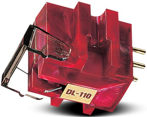 DENON DL 110 EM RED High Output Moving Coil Cartridge