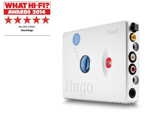 CHORD ELECTRONICS Hugo Portable DAC/Headphone Amplifier with Bluetooth - Silver
