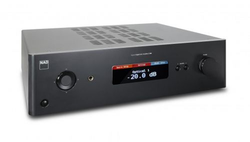 NAD C388 Hybrid Digital DAC Stereo Amplifier with BluOS, optional HDMI Module