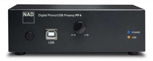 NAD PP4 Phono Pre Amplifier with USB