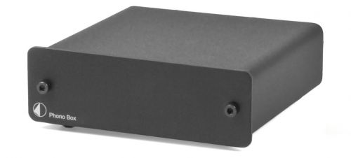 PROJECT Phono Box Pre Amplifier - Black